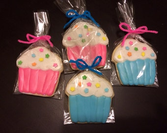 Cupcake Cookies - perfect party cookies!
