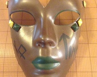 OOAK mask - Earth Magic