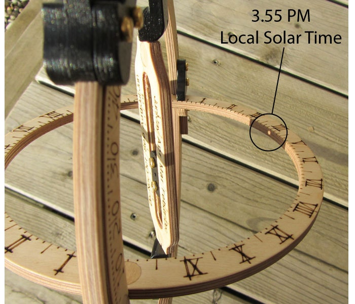 sundial ring how to use