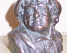 Vintage Rip Van Winkle Bronze Statue