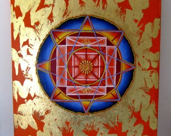 Sacred Sun and Sky Painting