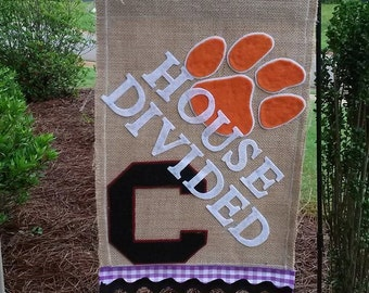 House Divided Garden Flag, 25.00 Soph Class Collection