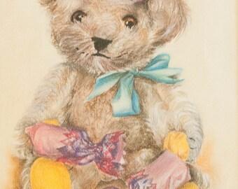 Teddy at Christmas
