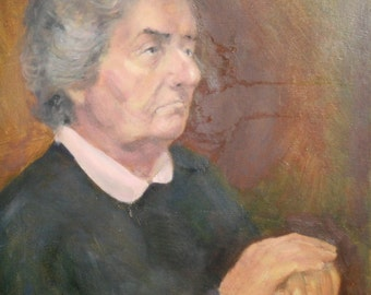 Impressionist Oil Painting Portrait