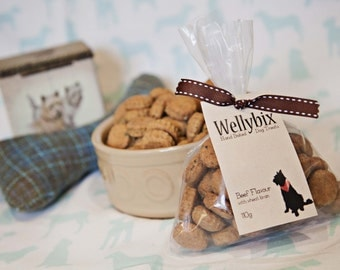 Artisan Hand Baked Beef with Parsley Flavour Healthy Dog Treats, Freshly Baked to Order.