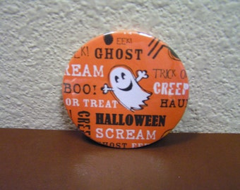 Ghost and Halloween Words Magnet