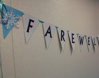 Farewell Banner- Customizable