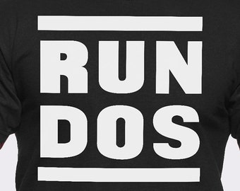 Run DOS T-Shirt