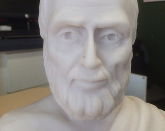 Aristotle bust, the Greek philosopher - MarbleCast