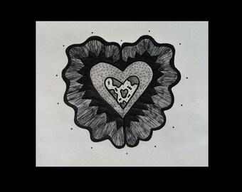Heart full to burst