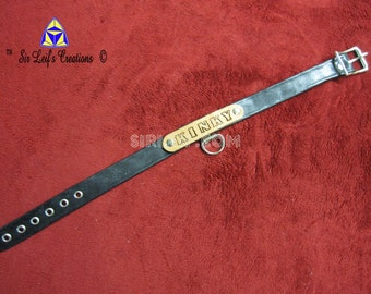 4028 - Black Kinky Collar
