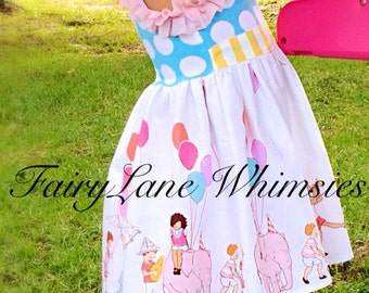 Girls birthday dress, parade dress, party dress, boutique, toddler girls, baby girls