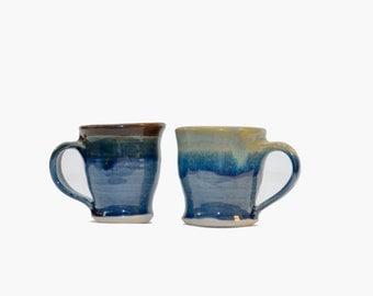 Mini Mugs- Set of 8- 6 oz each