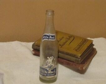 Vintage White Rock Sparkling Beverage Bottle