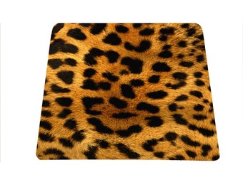 Leopard print - Animal print mouse pad mousepad mouse mat rectangle Cheetah print