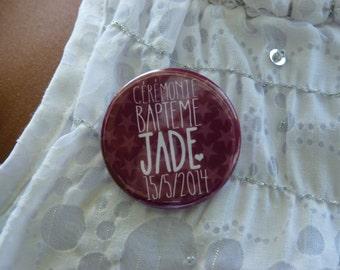 40 badges baptism custom