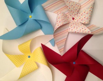 Colorful Custom Pinwheels