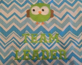 Owl & Chevron Team Leader Chair Pocket (1 Chair Pocket)
