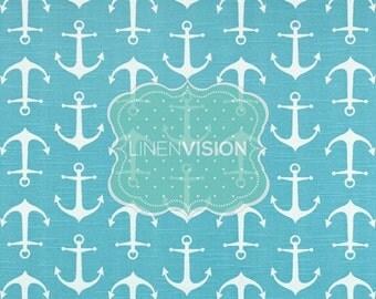 Tablecloth - Premier Prints - SAILOR - Coastal Blue - Choose Your Size - Table Linen Wedding Home Decor Dining Kitc
