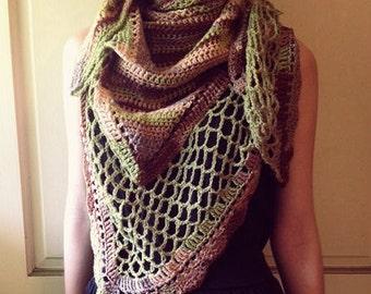 Crochet Camo Shawl