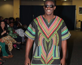 African Prints Male Shirts