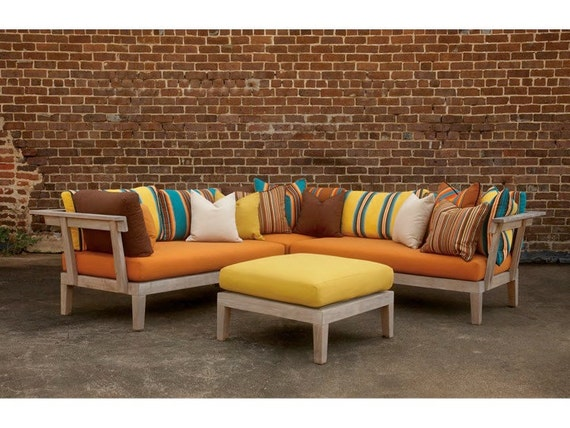 Sunbrella Outdoor Patio Furniture Custom Cushions by TrijayaLiving