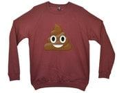IPHONE TURD fashion indie dope swag retro jumper sweater Front Print SWEATSHIRT