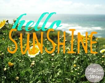 Hello Sunshine - 8x10 Nature Print