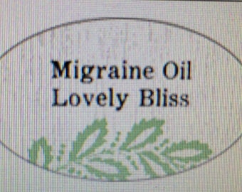 Migraine oil