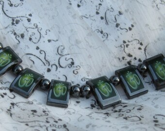 OM Hematite, Necklaces