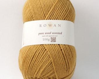Rowan Pure Wool Worsted Machine Washable Yarn - Gold 00133