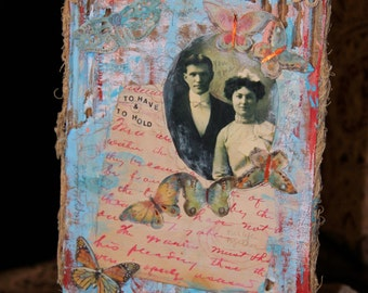 To Have And To Hold - Original Story Collage
