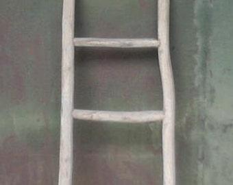 "66""H Teak log ladder, TL-66 series"