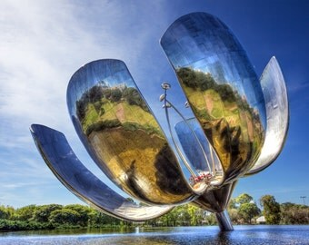 Mechanical Flower, Buenos Aires, Argentina - Fine Art Photograph