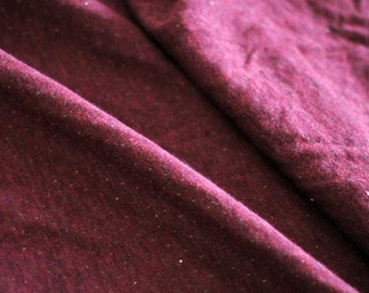 Japanese Fabric Double Knit Wine Red