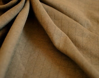 Japanese Fabric Quilt Knit Fabric Brown