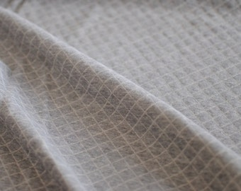 Japanese Fabric Quilt Knit Fabric Grey