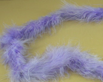 LAVENDER Marabou FEATHERS Mini BOA Craft Decoration 14 grams - 2 Yards long