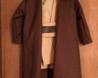 Jedi Costume Star Wars Children's size 6-18