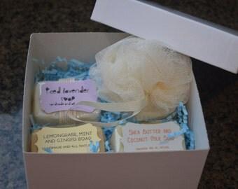 Natural Soap Gift Box