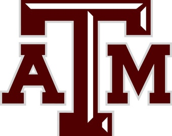 Texas A Amp M Cornhole Decal For Your Boards 1 Set High