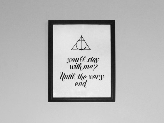 Harry Potter Until The Very End Quote Quora: Articoli Simili A Fino Alla Fine