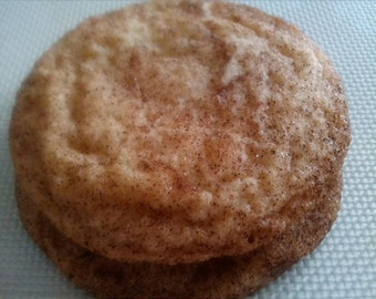 A Pound of Homemade Snickerdoodles Cookies