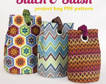 Stitch & Stash Bag PDF Sewing Pattern