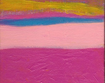 SALE Enlightened - Contemporary Abstract Art Painting - Betty Refour