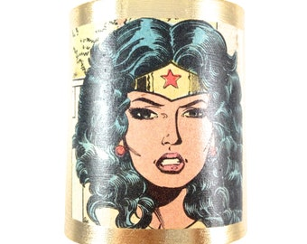 Wonder Woman Cuff Bracelet - Amazon