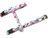 Cat Harness - Festive Floral - Cute, Soft and Fancy for Cats and Kittens