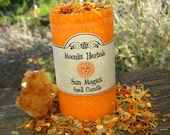 Sun Magick Spell Candle - Success, Illumination, Courage, Power, Creativity, Boosting Energy, Uplifting Moods, Manifest, Enlightenment, Lugh