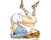 Annie - Fashion Illustration - by Brooke Hagel