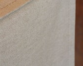 Linen Natural shown - Designer or Solid Canvas Dog Crate Cover in ALL sizes - Choose from 100s of Premier Print Fabrics